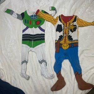 Disney Buzz and Woody Onesies